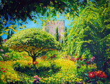 In Gardens of Alhambra