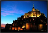 Twilight. Mont St-Michel.