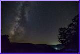 Vista above Lyman Run State Park