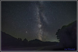 Milkyway erupts over US Route 6 near Denton Hill
