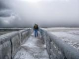 Lake Michigan at Winter