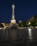 The Rossio Square, Lisbon