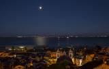 The Moon above Alfama