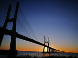 Ponte Vasco da Gama sunrise