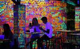Neon wall, Koh Samet