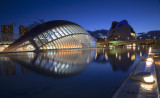 The City of Arts and Sciences at Night