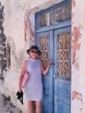 Small village of Pyrgos has many lovely doors