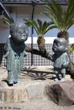 Statues of Nonnonba & Shigeru Mizuki DSC_5493