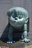 Yokai bronze statue DSC_5436