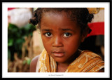 Young girl, close to Manakara, Madagascar 2010