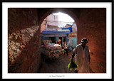 In the street, Chefchaouen, Morocco 2010