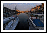 Harbour at dusk, Honfleur, France 2009