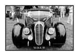 Delahaye type 180 roadster, Chantilly