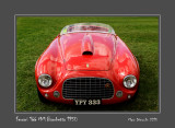 FERRARI 166 MM Barchetta 1950 Chantilly - France