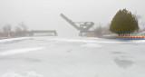 Scherzer Rolling Lift Bridge In Fog DSCN04022