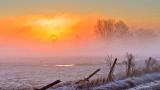 Ground Fog Sunrise DSCN05280-2