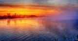 Misty Rideau Canal Sunrise DSCN05436-8