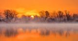 Misty Irish Creek Sunrise DSCN06059-61