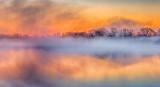 Misty Otter Creek At Sunrise DSCN06032-4