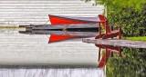 Red Boat & Dock Chair DSCN08108