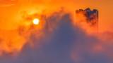 Sunrise Through Niagara Falls Mist P1200627