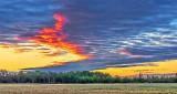 Interesting Sky At Sunrise DSCN10827-9