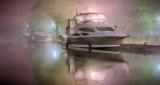Docked In Night Fog P1210637-9 Art