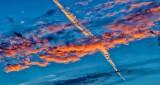 Sunrise Cloud & Contrail P1220005-9