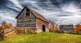 Old Log Barn & Shed P1260977-9
