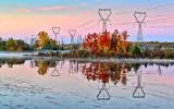 Autumn Transmission Towers P1260768-70