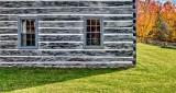 Old Log House Windows P1260986-8