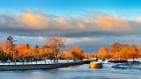 Rideau Canal At Sunrise DSCN17898-900