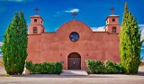 Old Mission-Style Catholic Church 73575