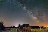 Milky Way Over A Barn P1300426