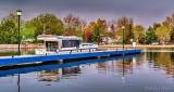Canal Basin Pier At Dawn P1310222-8