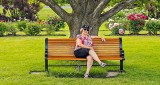 Sandra In The Ornamental Gardens DSCN25353