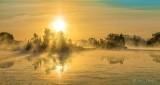 Misty Rideau Canal Sunrise DSCN25080-2