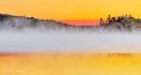 Misty Otter Lake At Sunrise DSCN28243-5