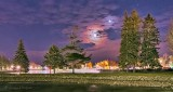 Moon & Venus Over Turtle Island P1370700-6