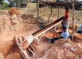 village des chercheurs d'or, gold digger vill., Sénégal