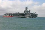 USS HARRY S TRUMAN CVN75 STOKES BAY UK   APRIL 2005