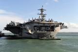 USS GEORGE H W BUSH CVN 77 STOKES BAY UK JULY 31 2017