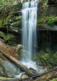 waterfall on tributary of Laurel Creek 4