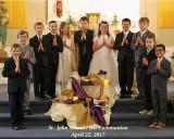 St. John School First Communion 2017