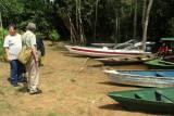 ANFAHRT ZUR ANACONDA LODGE; EINE KLEINE INSEL IM RIO NEGRO / AMAZONAS:13.04.2017