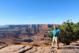 Dickie at Deadhorse Point
