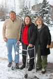 Bob, Anna, and Marilyn Sloan