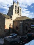 Église de Saint Alban, église romane à trois cloches (XIIème siècle)