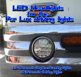 How to install a 5.75 Hi-Lo beam LED headlight in a Per Lux T-100 housing