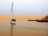 Sailing in winter...